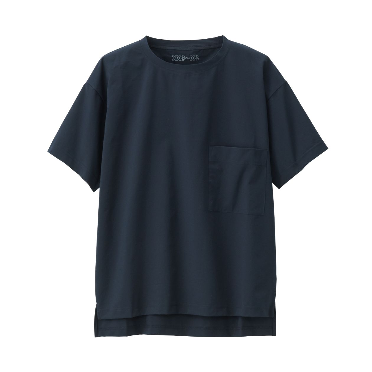 吸汗速乾縦横ストレッチTシャツ