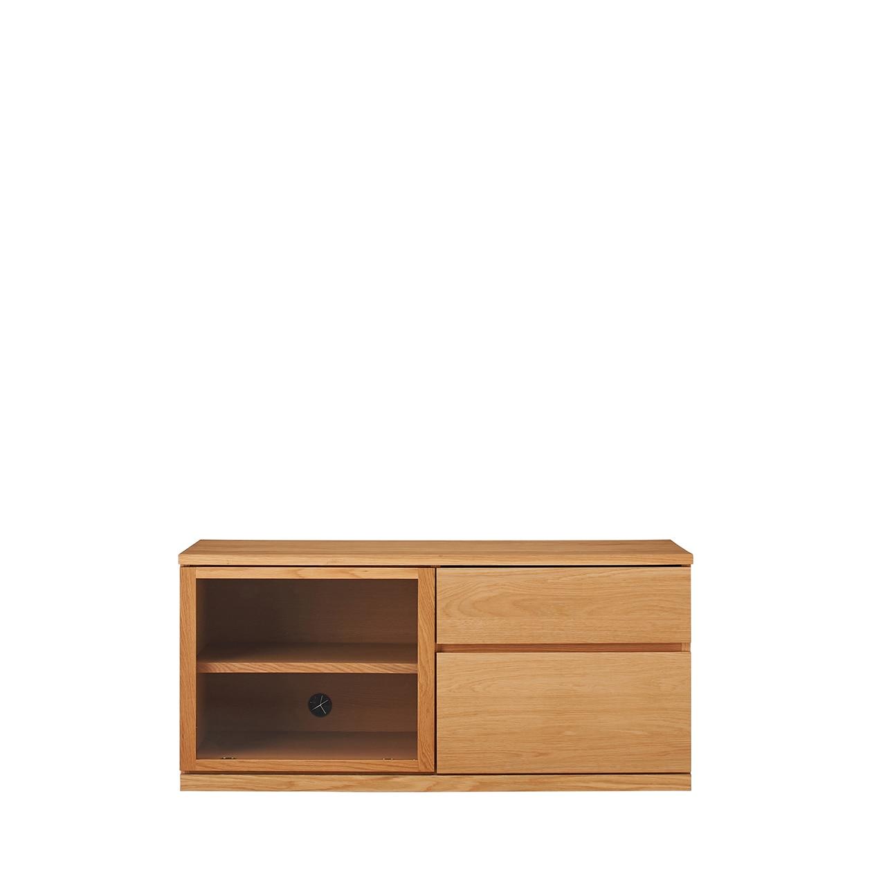木製AVラック・幅110cm・オーク材