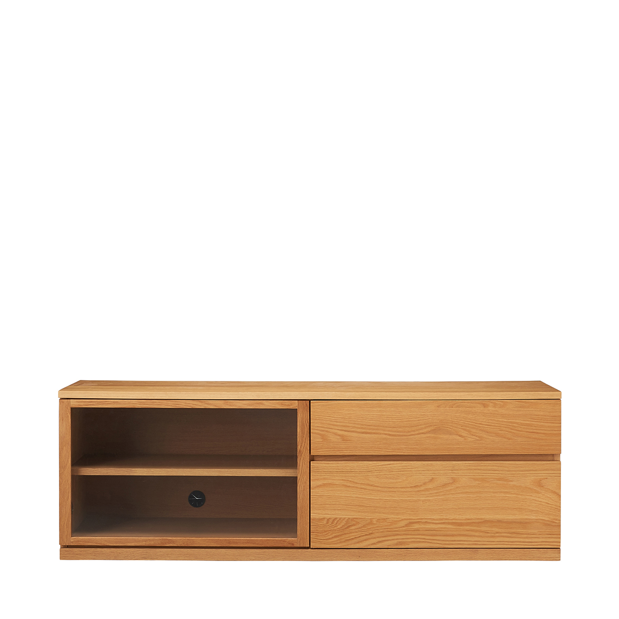 木製AVラック・幅150cm・オーク材