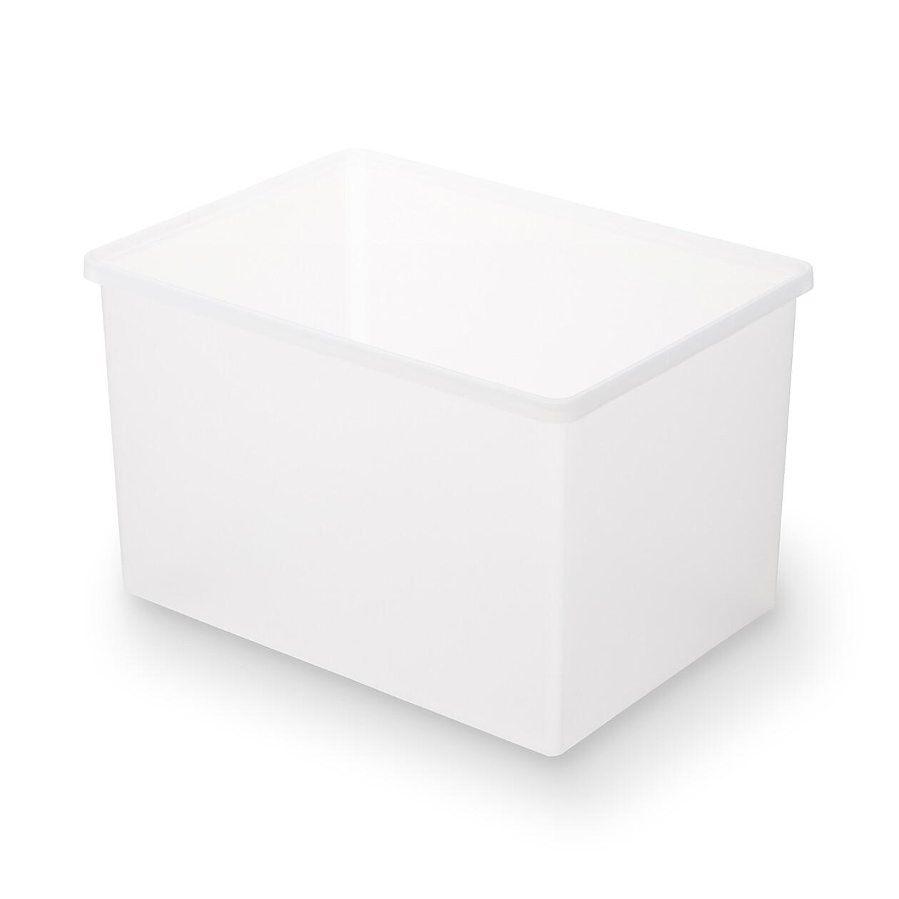 ポリプロピレン収納ボックス・ワイド・深