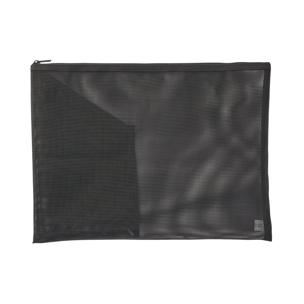 NYLON MESH DOCUMENT CASE WITH POCKET
