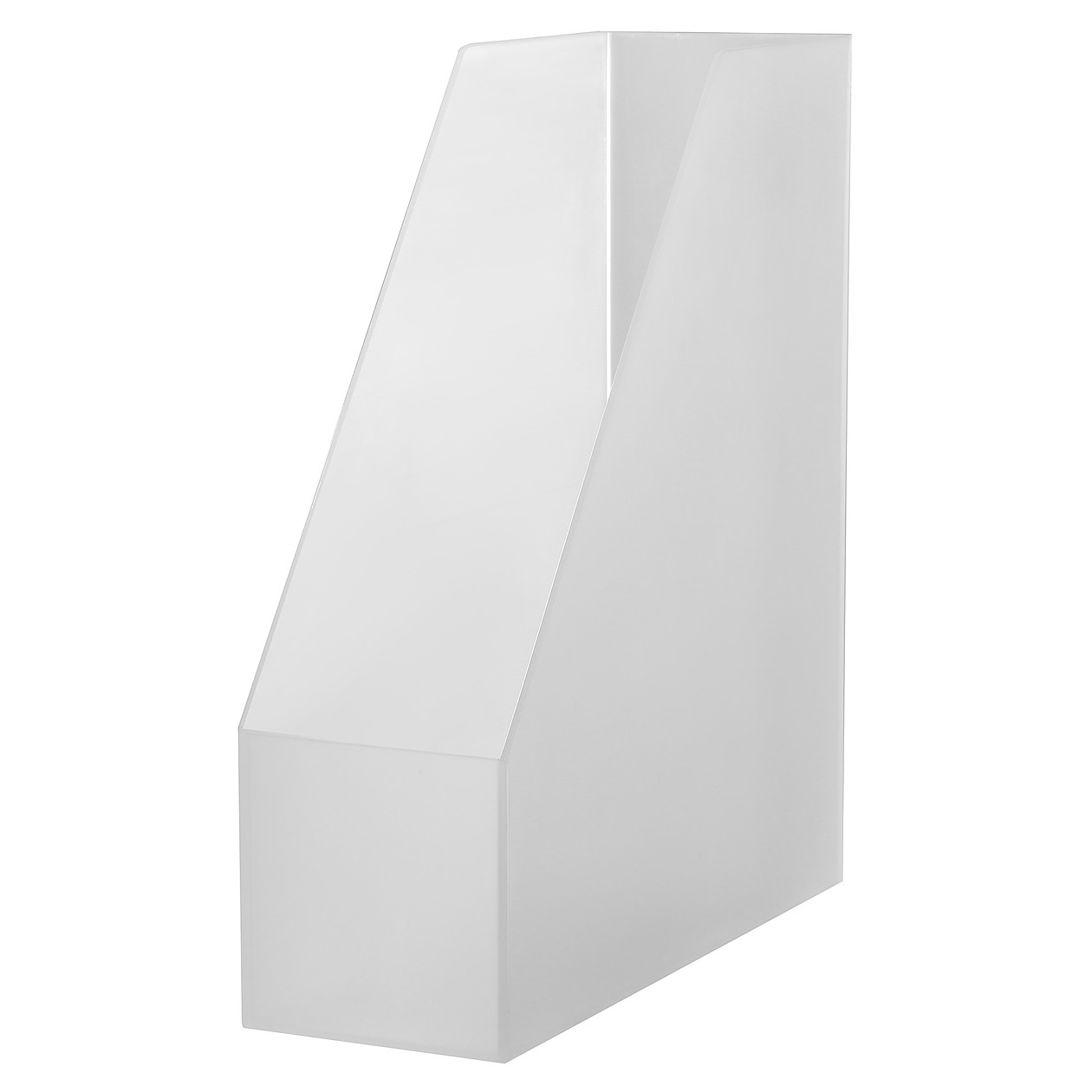 POLYPROPYLENE STAND FILE BOX A4