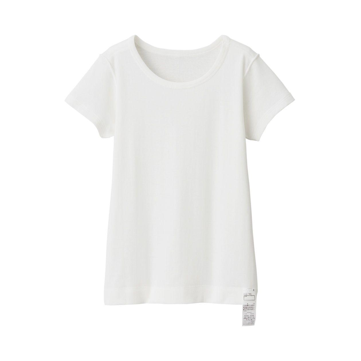 肌あたりがやさしい半袖Tシャツ(キッズ)