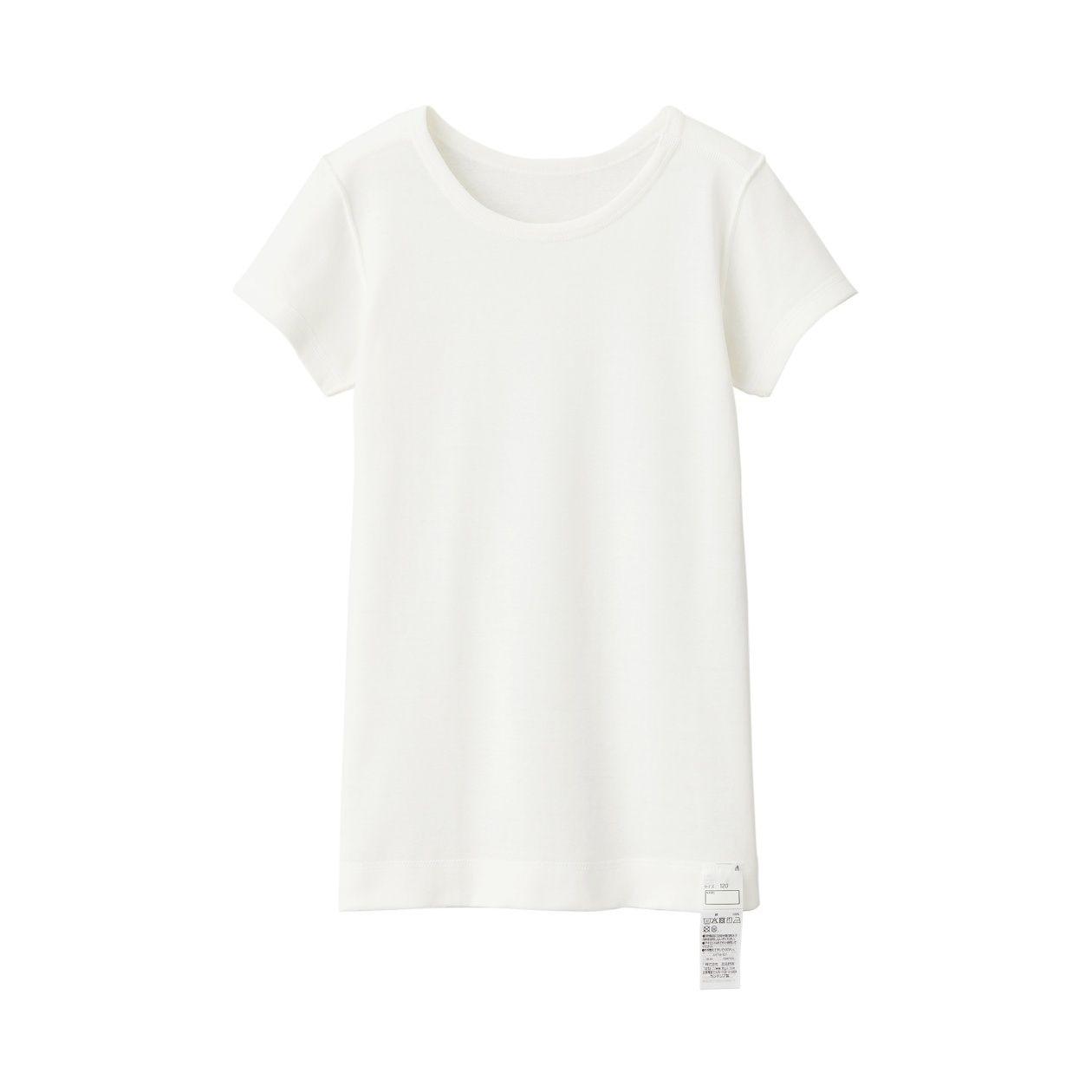 綿であったか肌あたりがやさしい半袖Tシャツ(キッズ)
