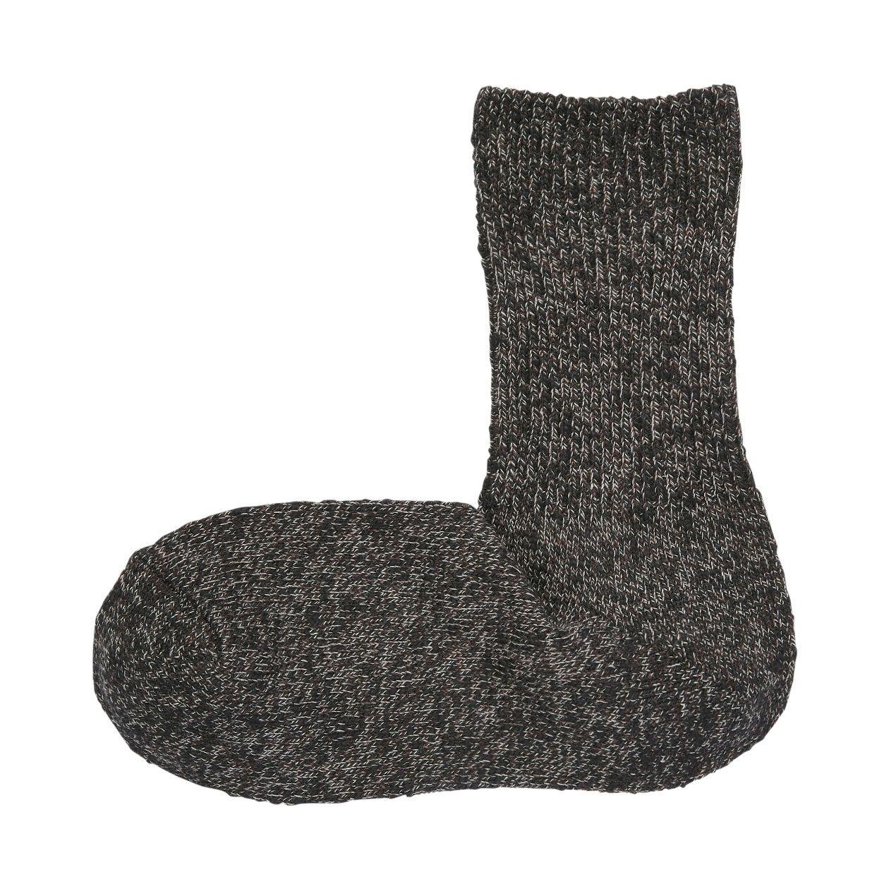 足なり直角 ムラ糸 靴下(婦人・えらべる)