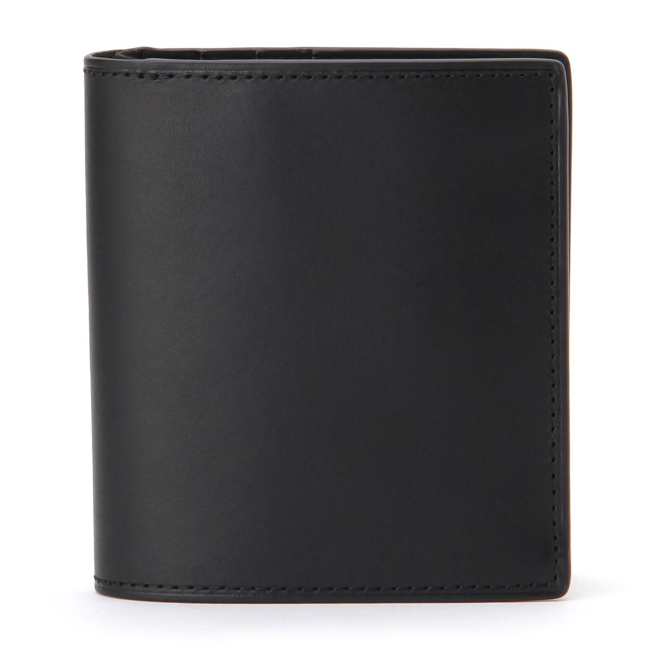 イタリア産ヌメ革二つ折り財布