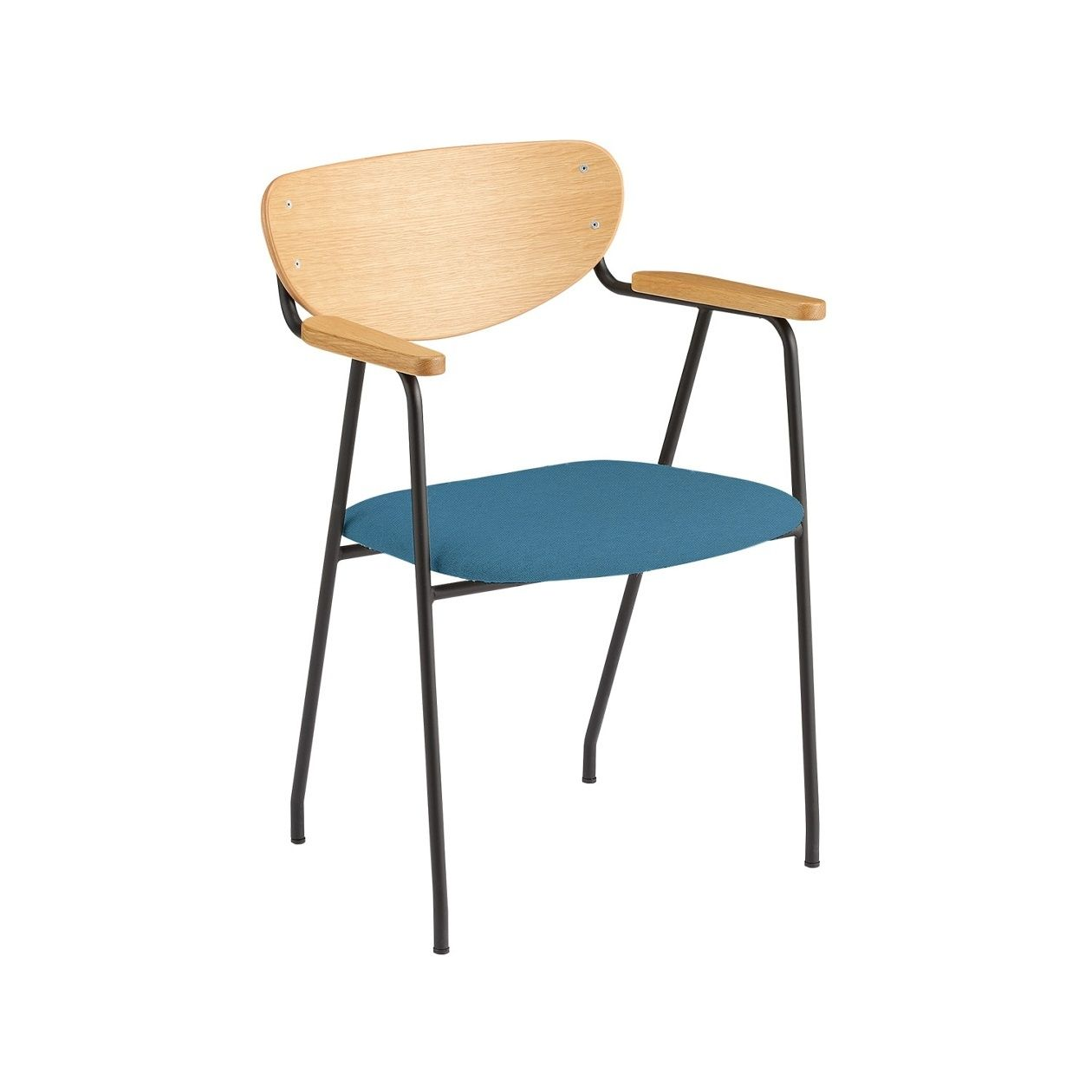 DJANGO ARM CHAIR BK CA1470