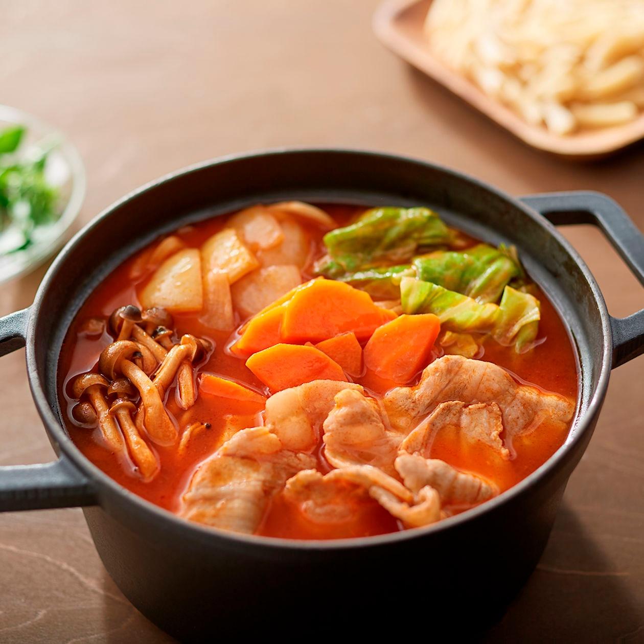 【無印良品】手づくり鍋の素 ミネストローネ鍋