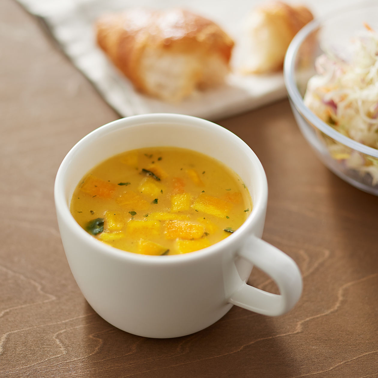 Pumpkin & Sweet Potato Potage