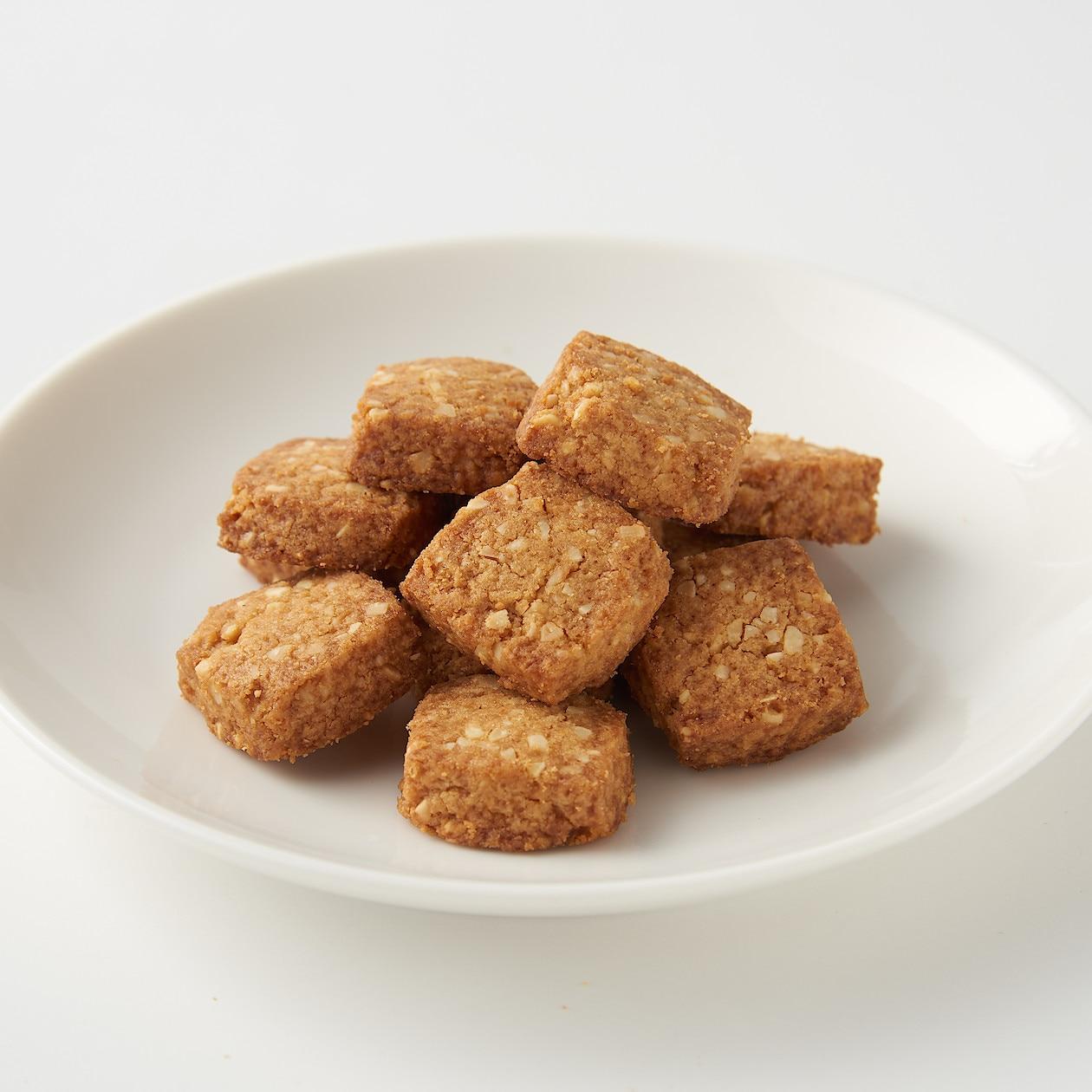 糖質10g以下のお菓子 キャラメルサブレ