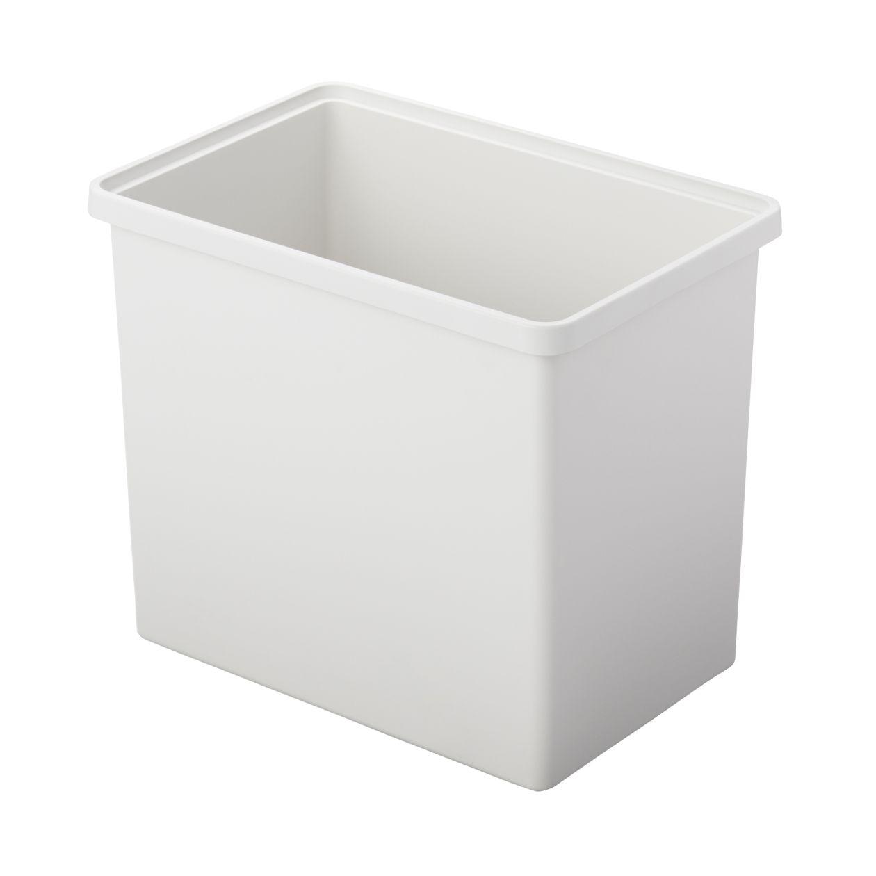【ネット限定】ポリプロピレン収納ボックス・深・ホワイトグレー