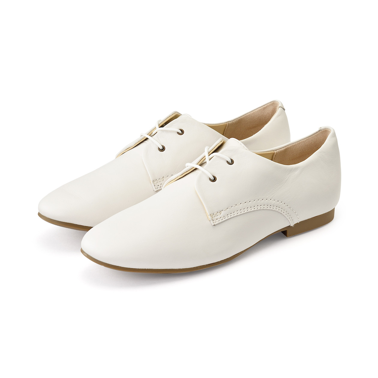 Ladies' Leather Lace-Up Shoes