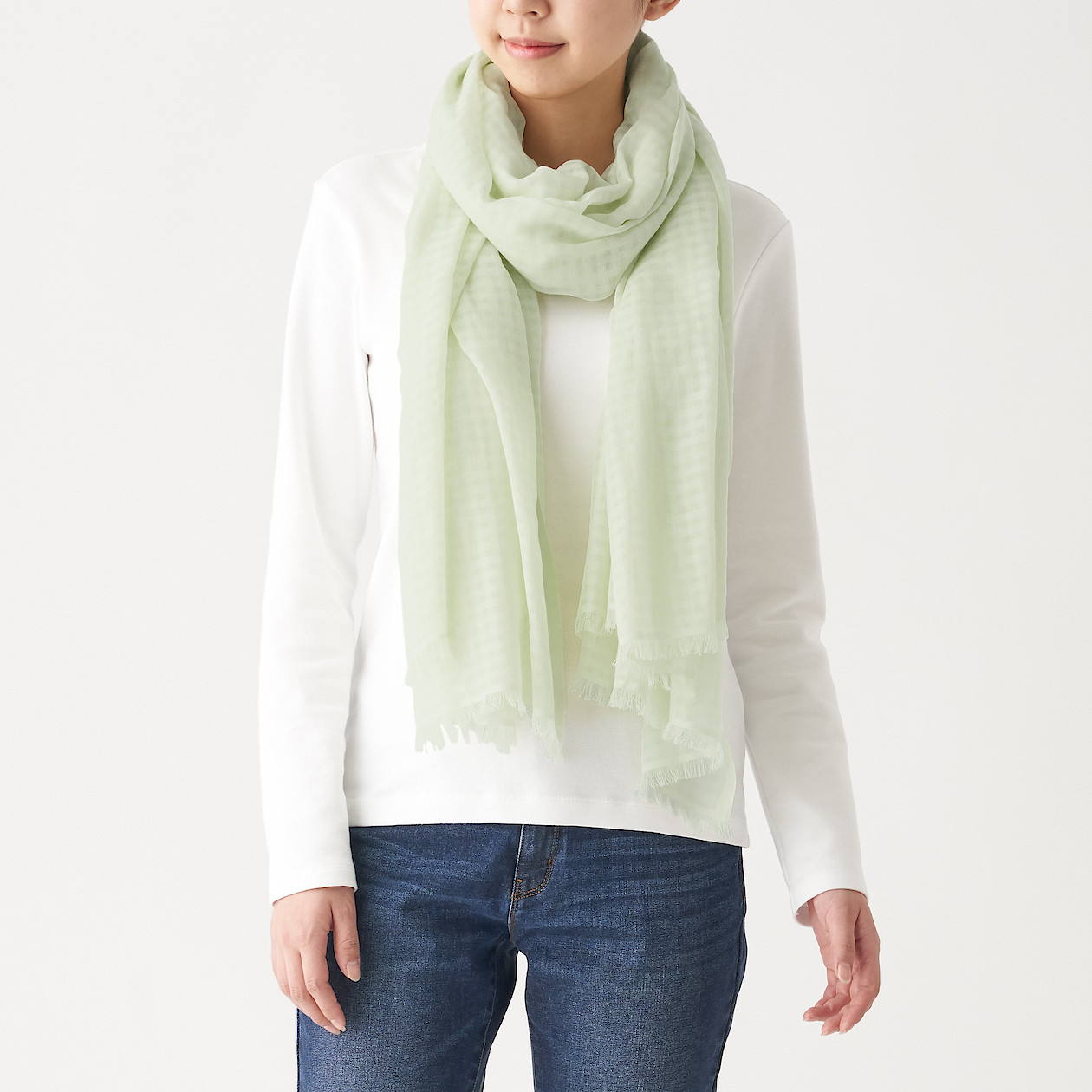 Organic Cotton Large Stole