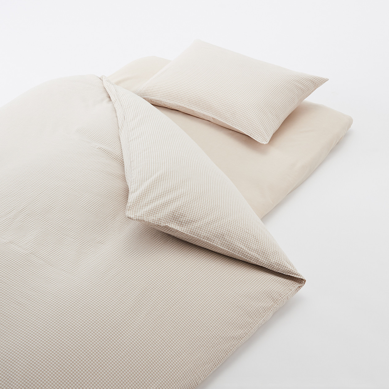 Washed Cotton Cover Set For Futon S