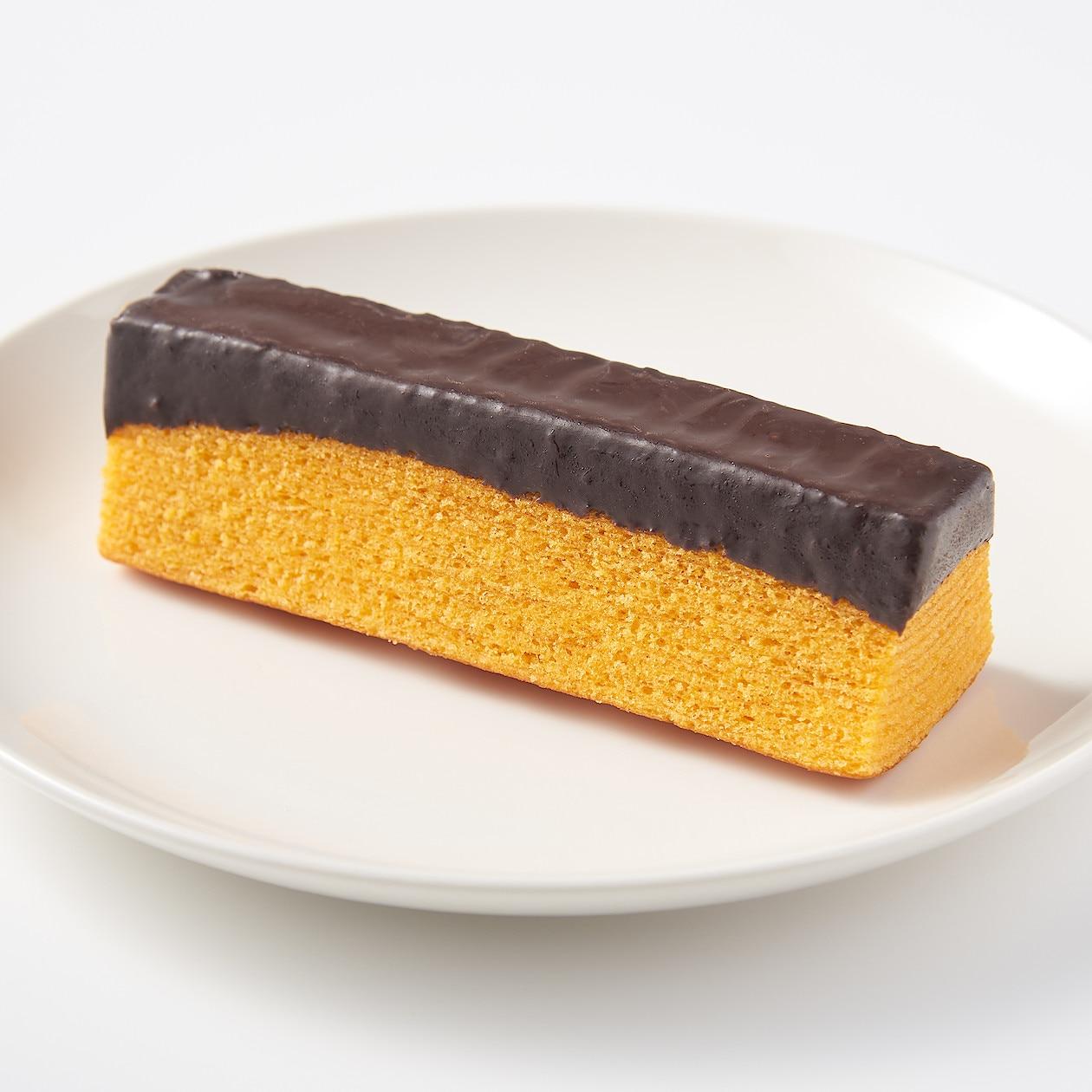 不揃い チョコがけオレンジバウム