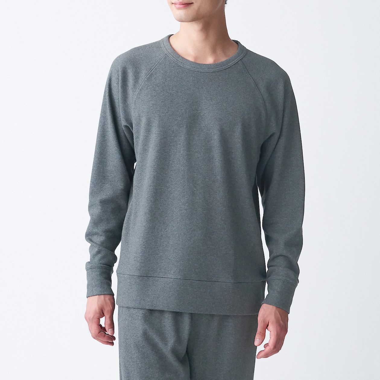 Men's Organic Cotton Mix French Terry Sweatshirt