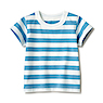 Children's Organic Cotton Jersey Short Sleeve T-Shirt
