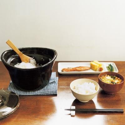 土釜おこげ 3合炊き 約直径22×高さ15cm