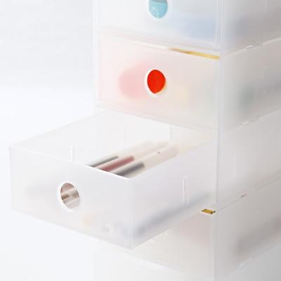 無印良品   ポリプロピレン小物収納ボックス6段・A4タテ約幅11×奥行24.5×高さ32cm 通販