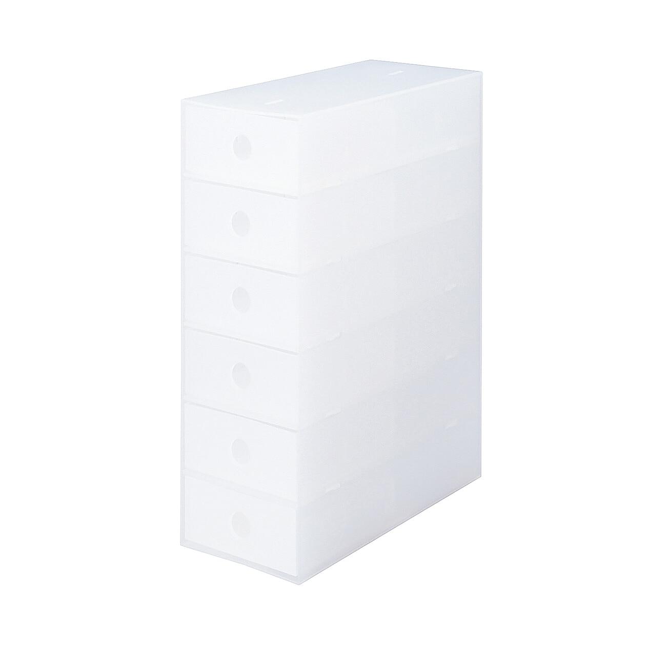 RoomClip商品情報 - ポリプロピレン小物収納ボックス6段・A4タテ