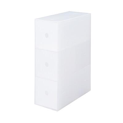RoomClip商品情報 - ポリプロピレン小物収納ボックス3段・A4タテ