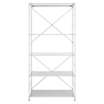 RoomClip商品情報 - スチールユニットシェルフ・スチール棚セット・ワイド大・グレー