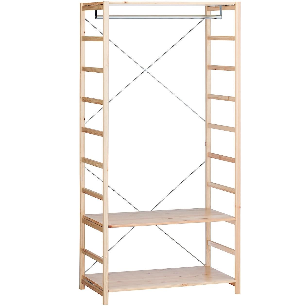 RoomClip商品情報 - パイン材ユニットシェルフ・ワードローブ