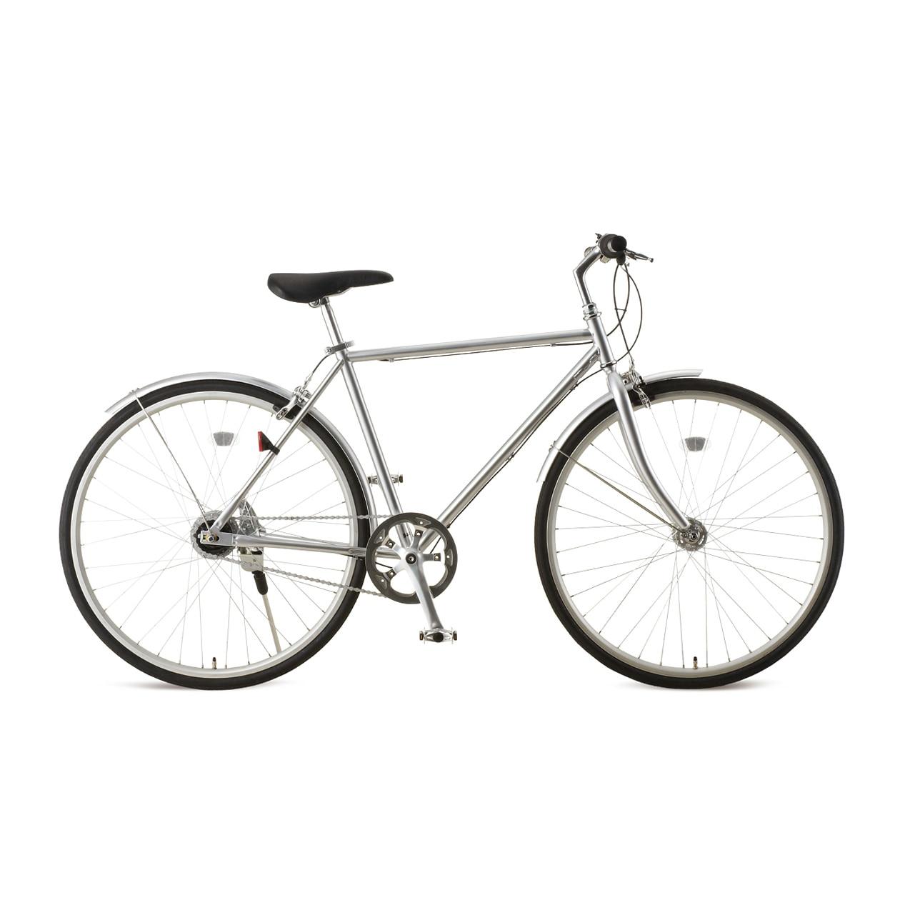 シンプルで洗練された雰囲気の無印良品の自転車。「ロードバイクとは言わないけど、ママチャリよりおしゃれなデザインの自転車に乗りたい!」という趣向の方に人気  ...