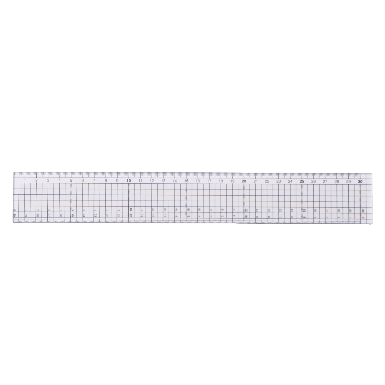 Nonslip Cutting Ruler by Muji