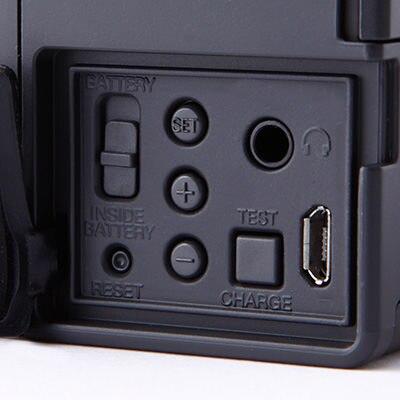無印良品 充電ラジオ(LEDライト・時計機能付)OC223B