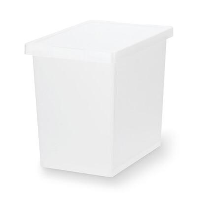 RoomClip商品情報 - ポリプロピレンキャリーボックス・ロック付・小・深型