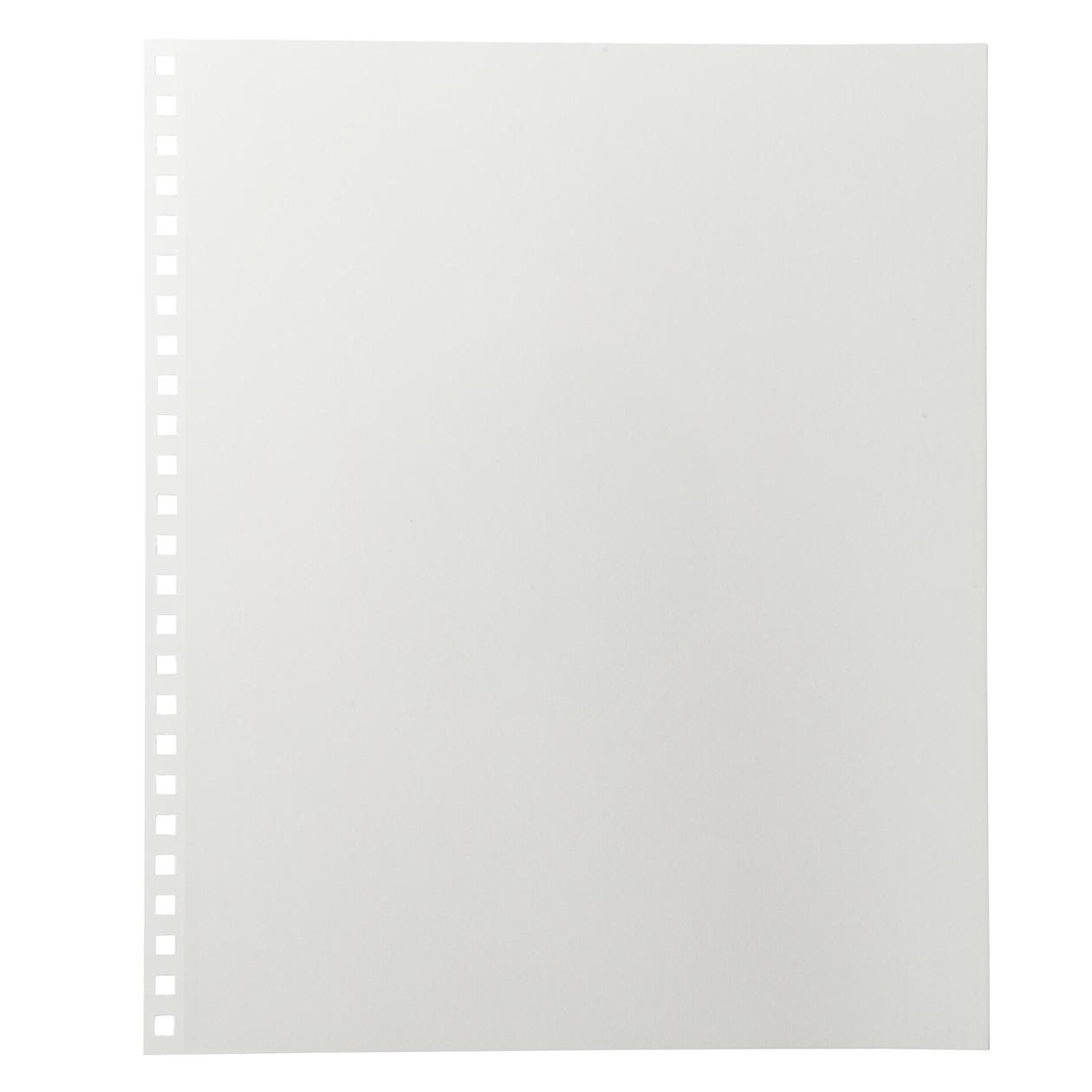 ポリプロピレンカバー台紙に書きこめるアルバム用・フリー台紙