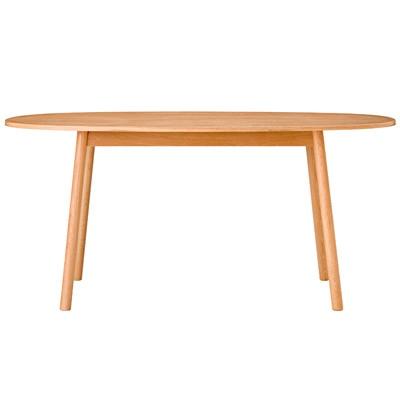 オーク材ダイニングテーブル・オーバル2