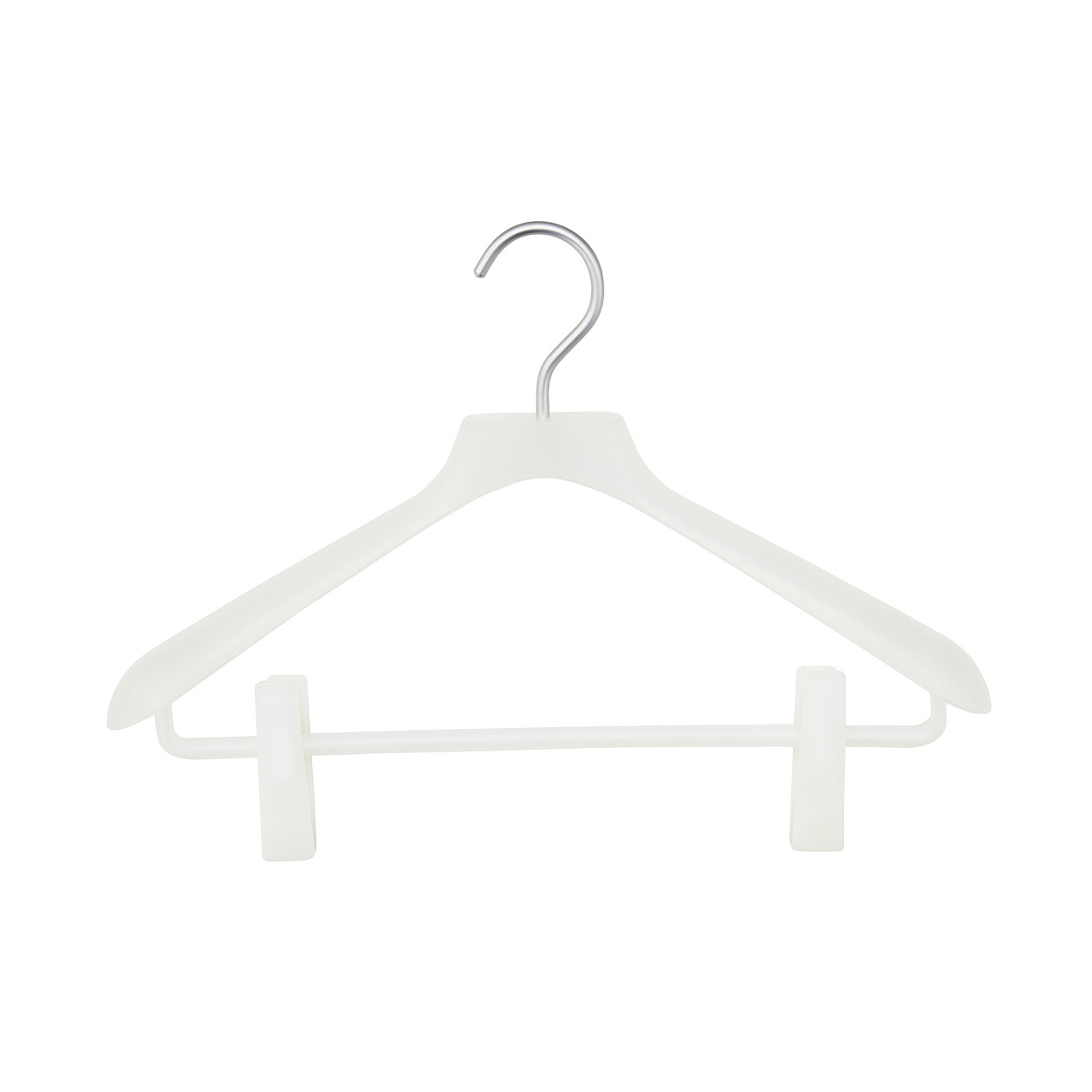 【まとめ買い】ポリプロピレンハンガー・婦人用・ピンチ付