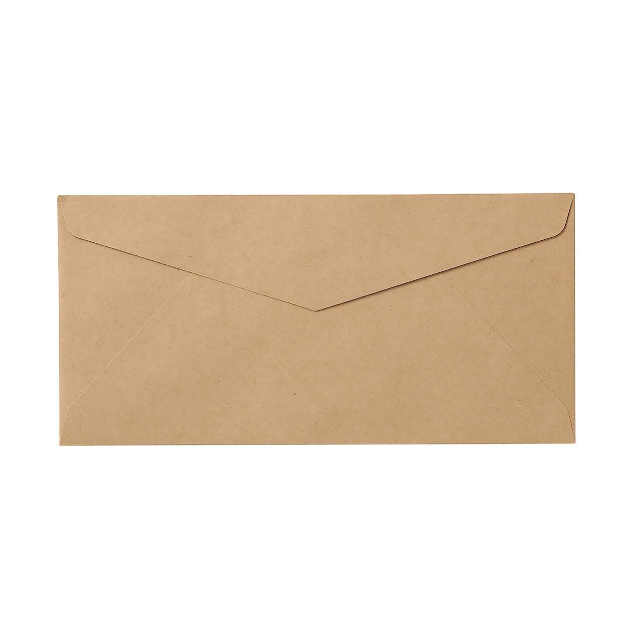 kraft paper envelope muji