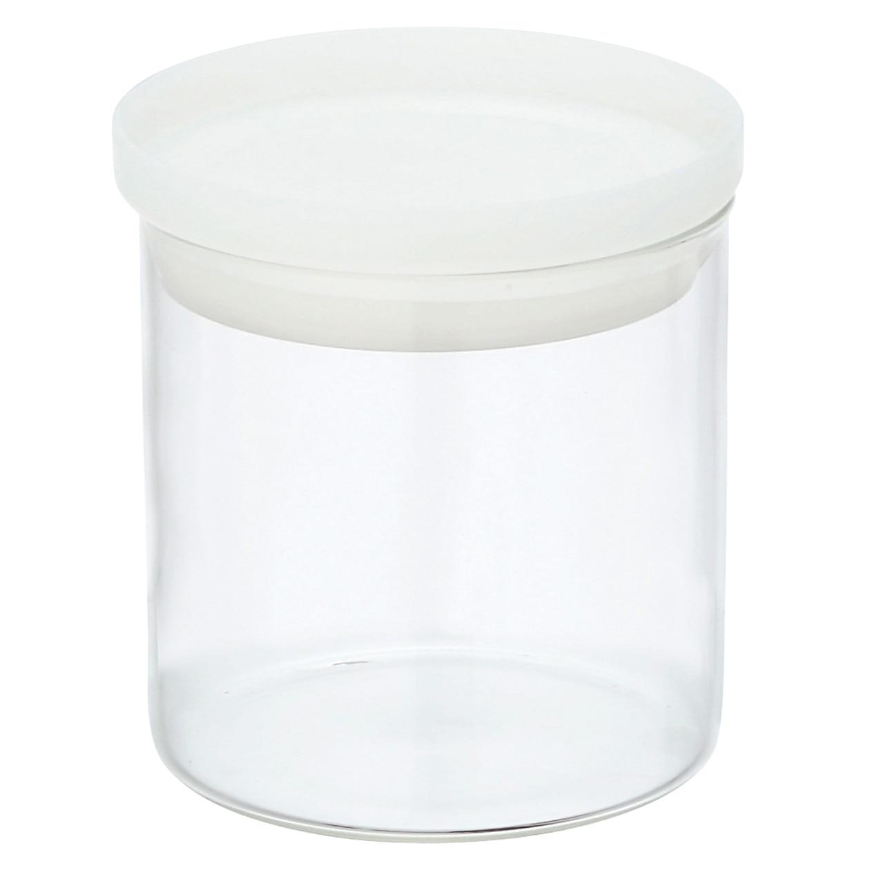 耐熱ガラス丸型保存容器 3の写真