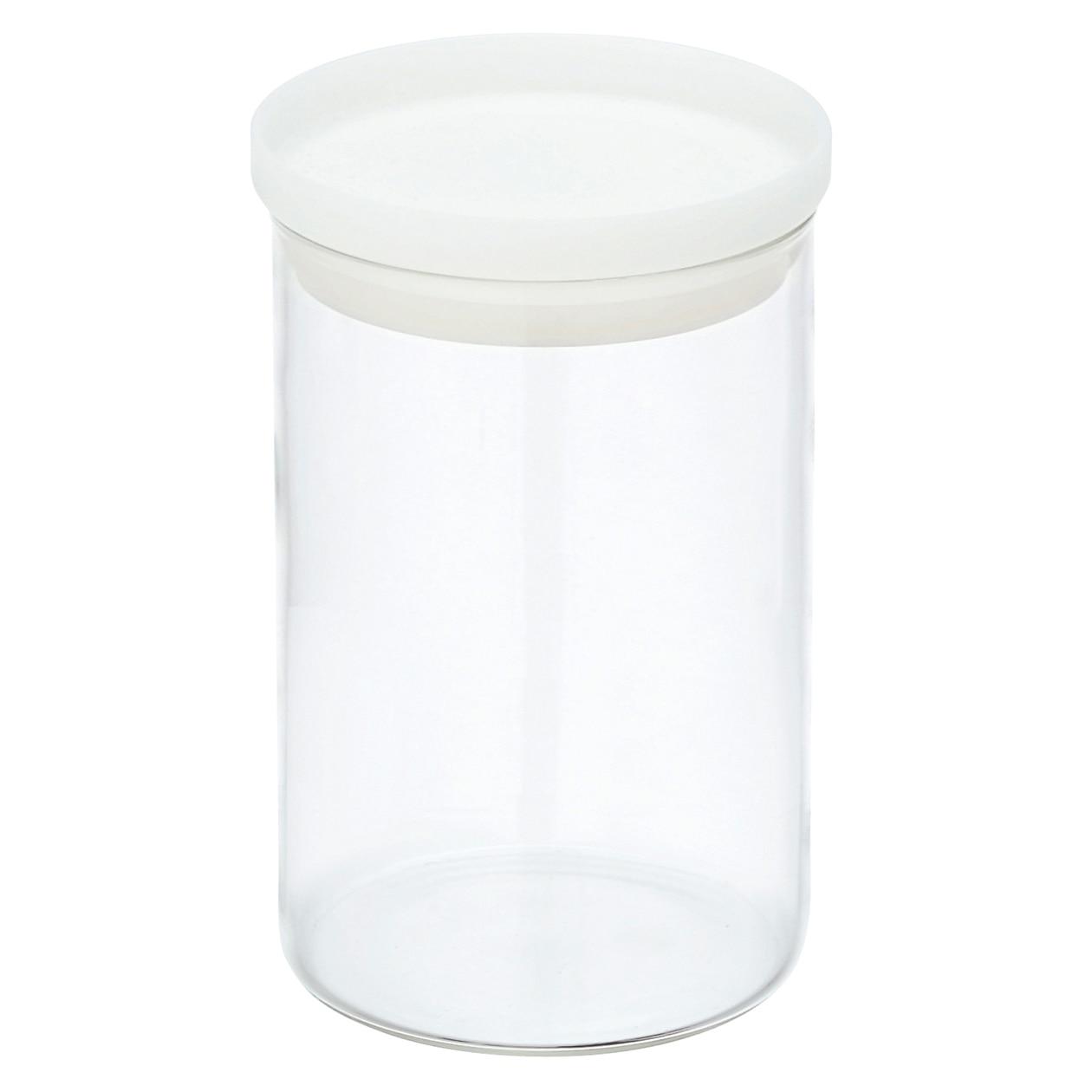 耐熱ガラス丸型保存容器 4