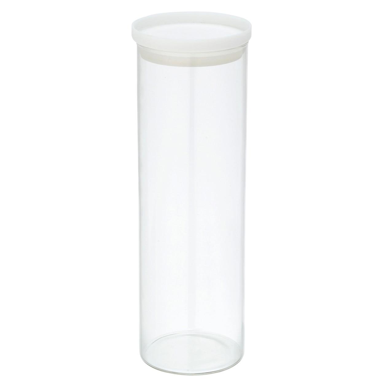 耐熱ガラス丸型保存容器 5