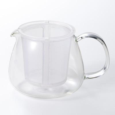 【パーツ】耐熱ガラスポット・マグ用 プラスチックストレーナー 約直径8.5×高さ8cm