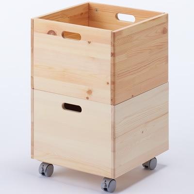 ダイソーのシンプルな収納ボックス