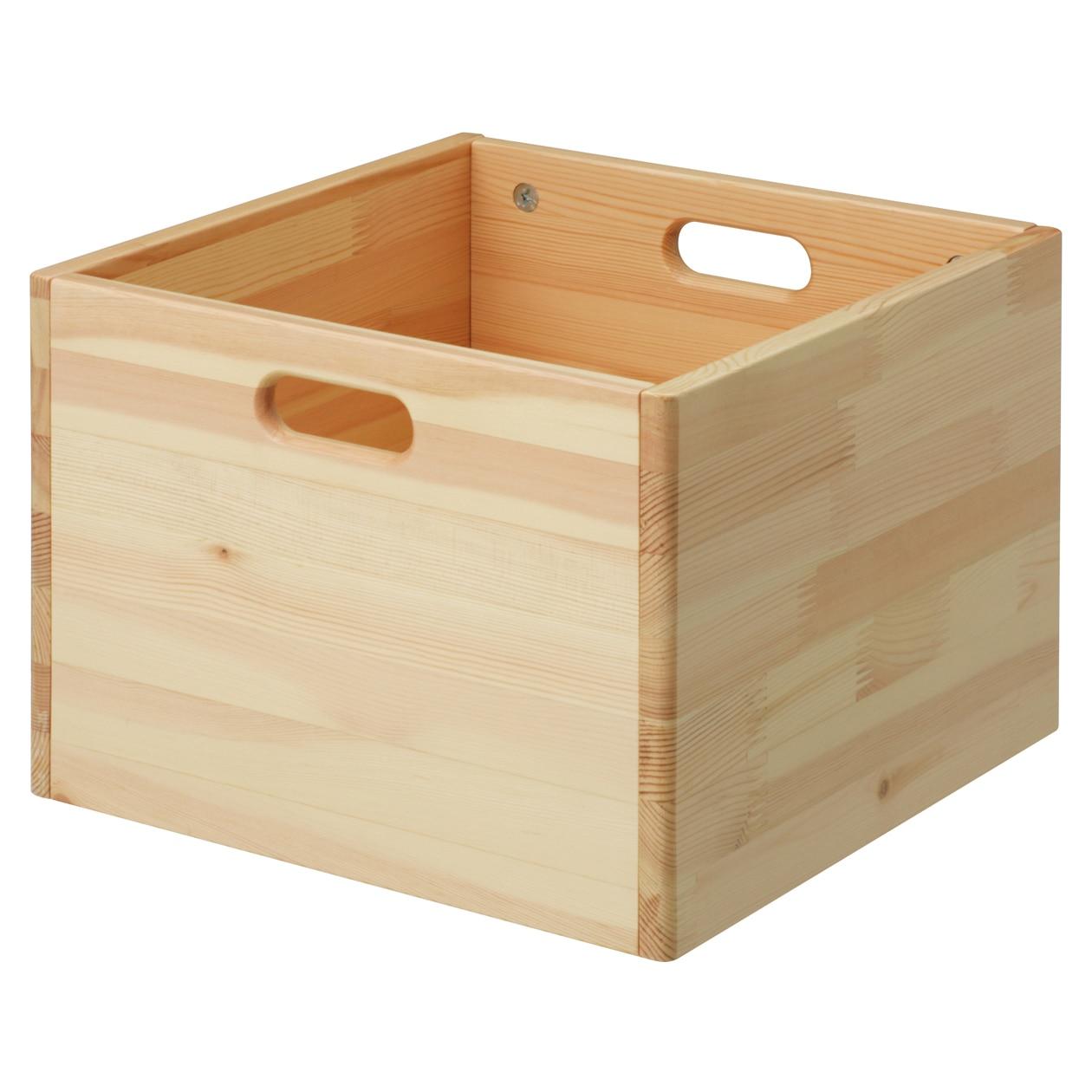 パイン材収納BOX