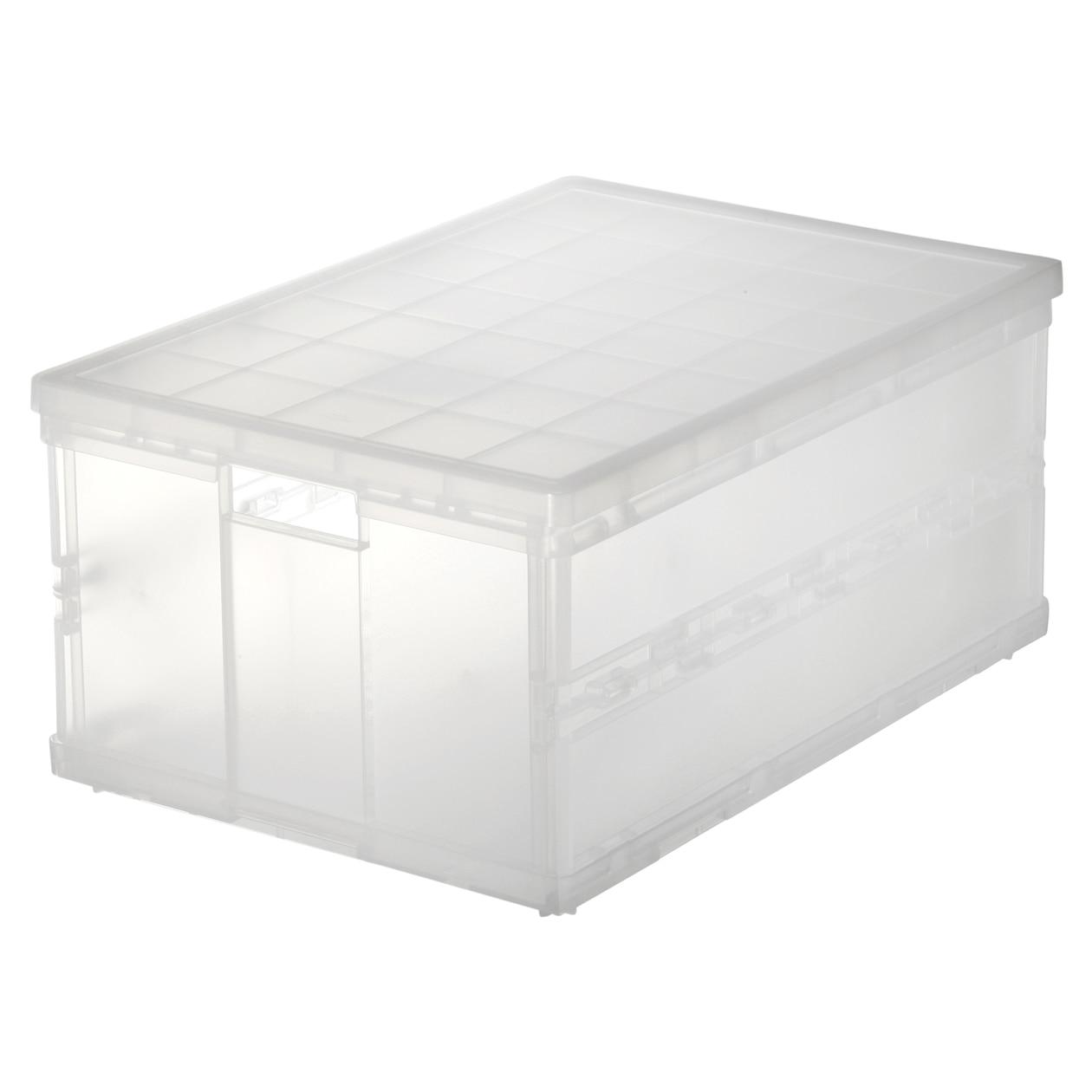 ポリプロピレンキャリーボックス・折りたたみ式・大