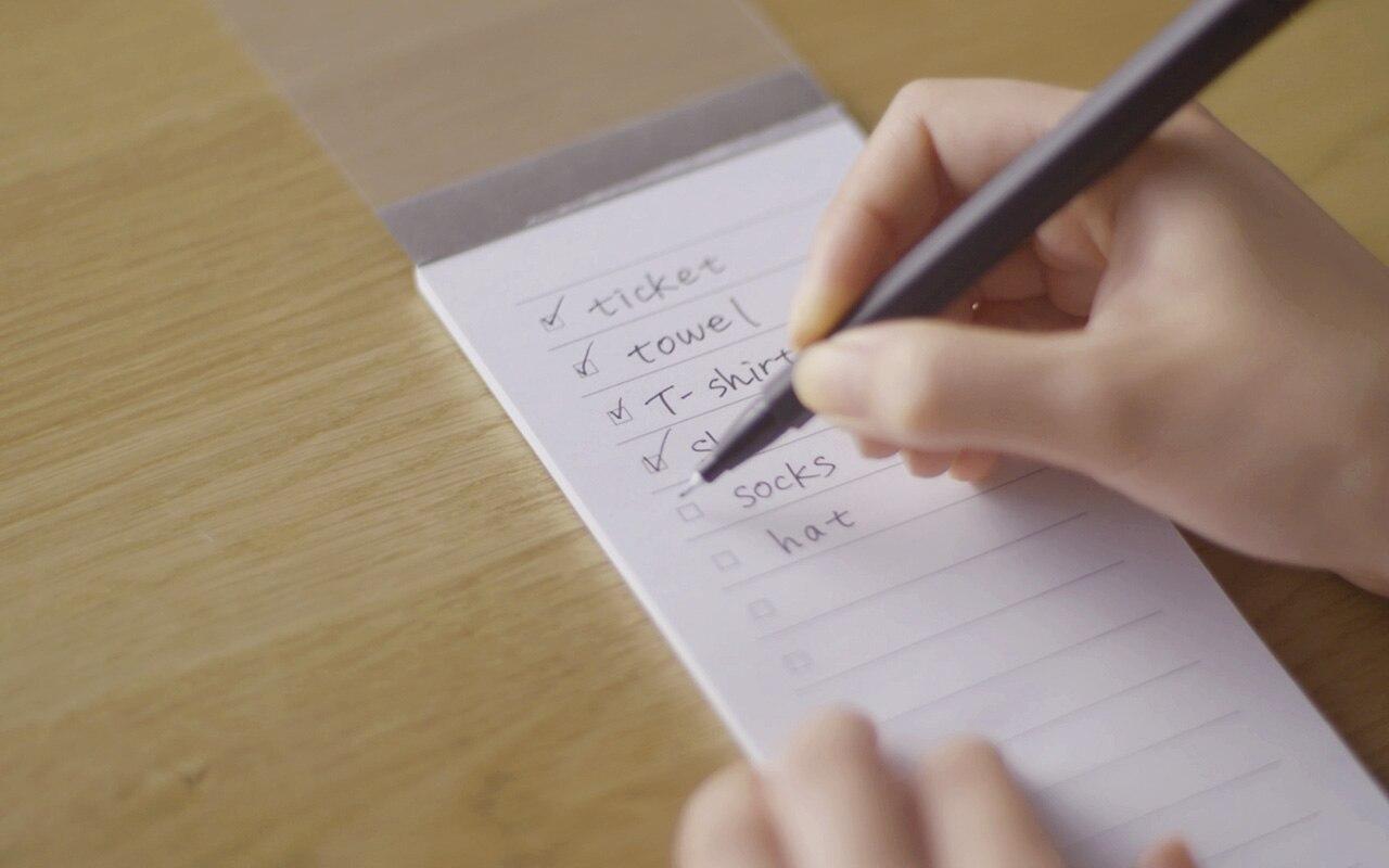一番上の線がないと、チェックリストを増やすとき、つまり、続けて押したときに違和感ない!