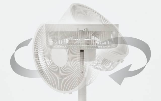 無印良品のUSB静音扇風機は2000円弱で首振りダブルファン2段階調整機能でコスパ良し
